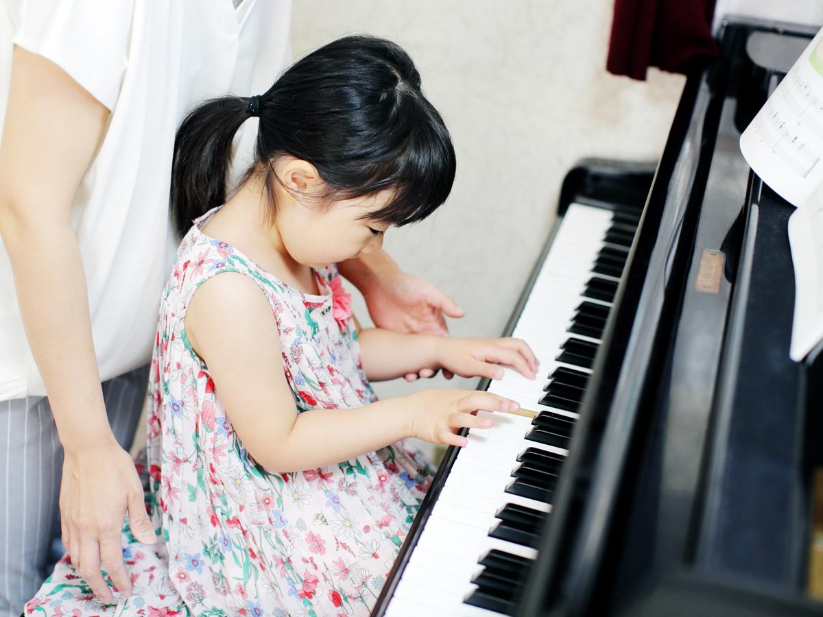 幼児コース ピアノレッスン 堀川ミュージックスクール(岡山市)