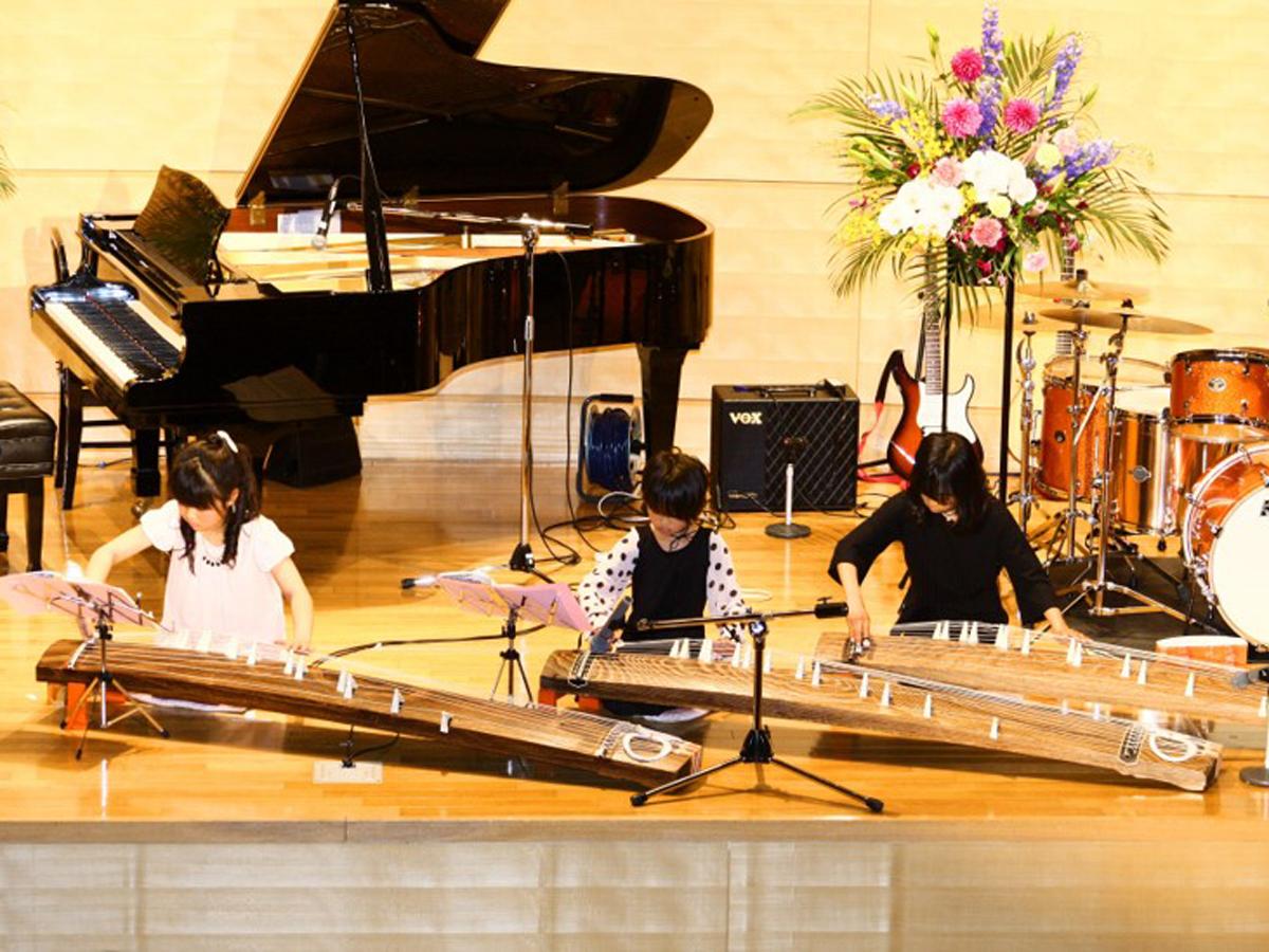 岡山音楽ボランティア団体での発表会