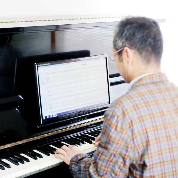 ピアノのパソコンレッスン