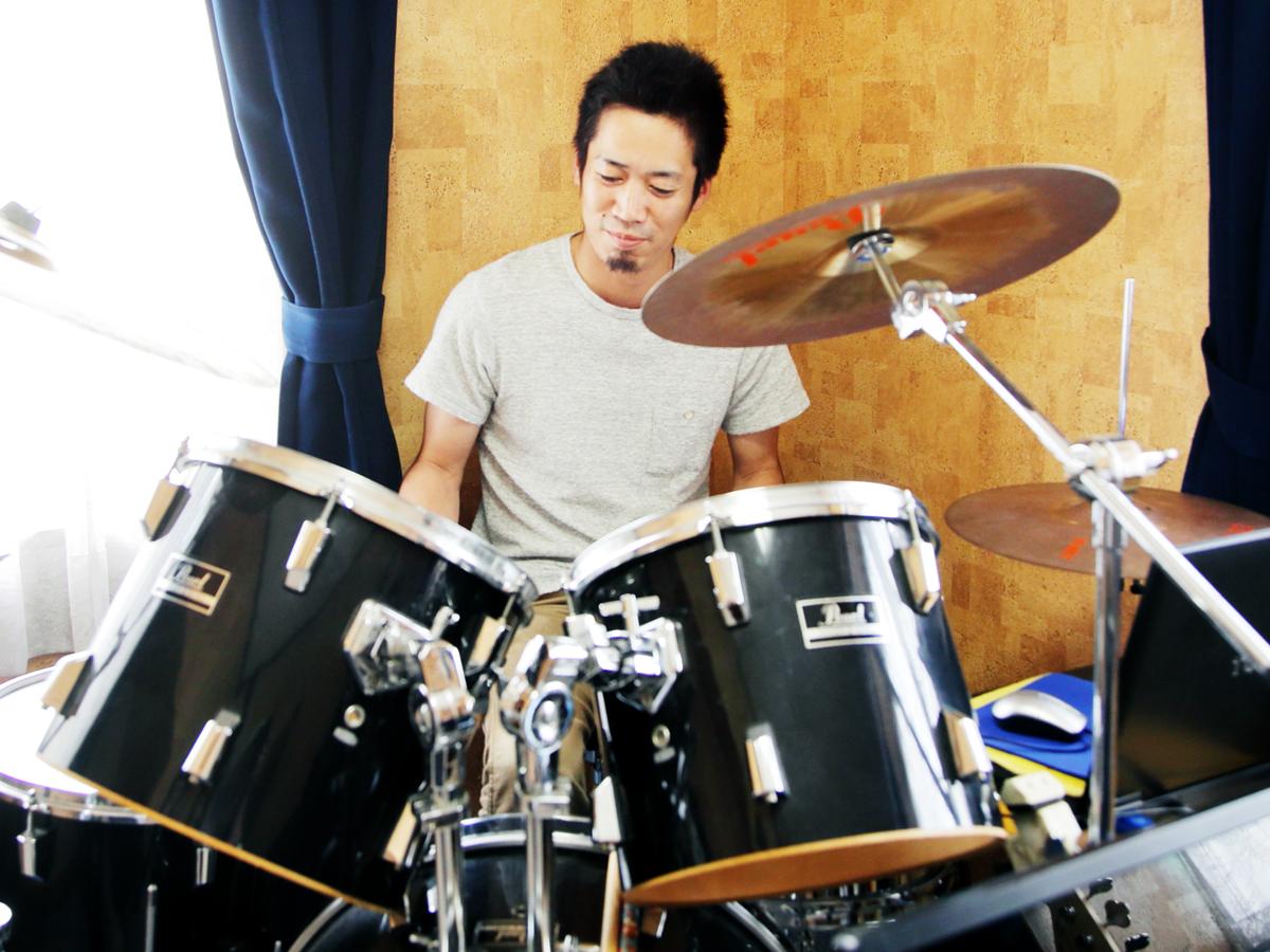 ドラム レッスン 岡山市堀川ミュージックスクール