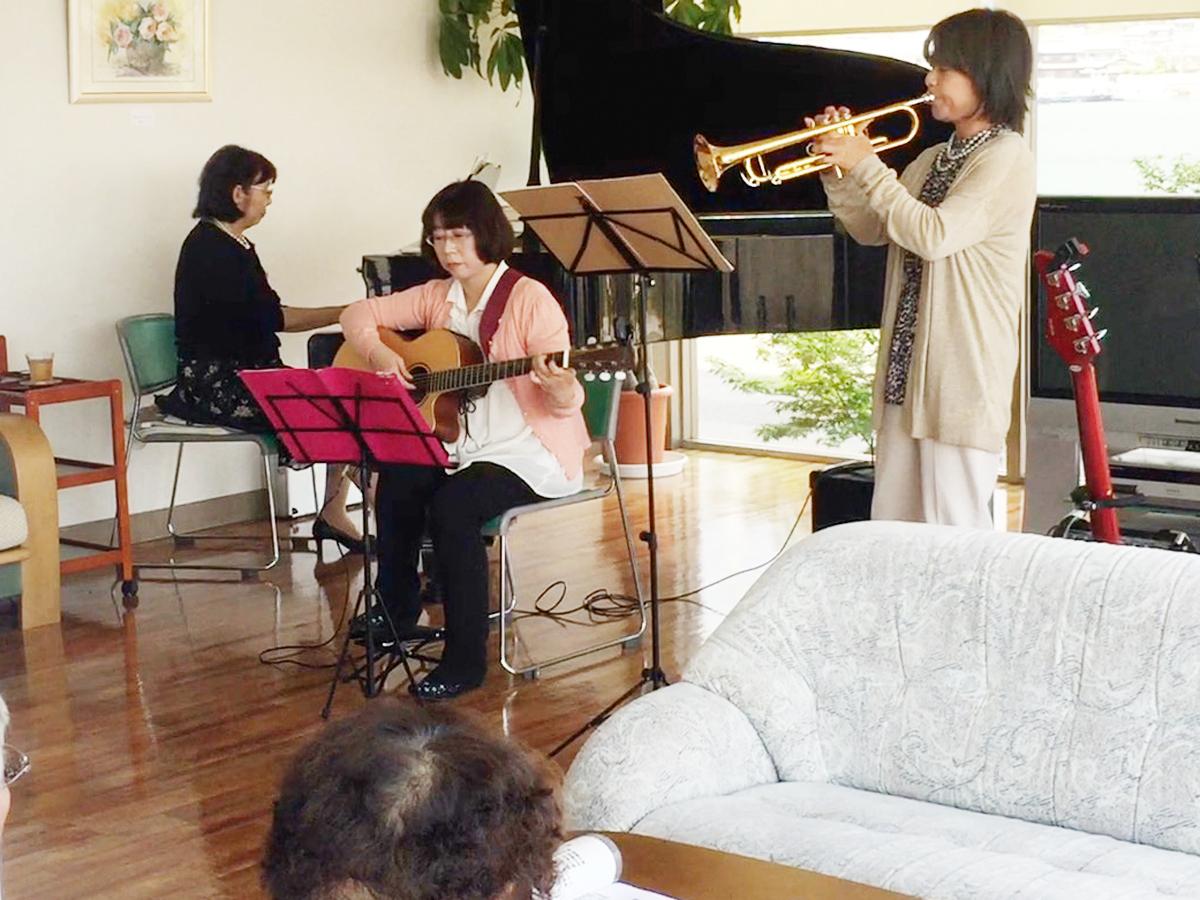 岡山市 音楽演奏ボランティア 堀川ミュージックスクール